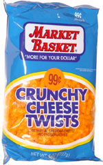 Market Basket Crunchy Cheese Twists
