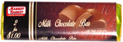 Market Basket Milk Chocolate Bar