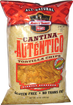 Select Alliance Market Basket Herr's Cantina Auténtico Tortilla Chips Lightly Seasoned