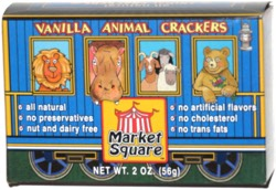 Market Square Vanilla Animal Crackers