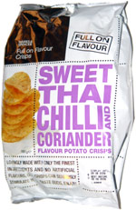 Marks & Spencer Sweet Thai Chilli and Coriander Flavour Potato Crisps