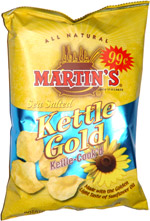 Martin's Sea Salted Kettle Gold Potato Chips