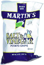 Martin's Salt & Vinegar Potato Chips