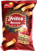 Fritos Matutano Tiras de Maíz Barbacoa