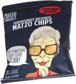 Matzo Chips Cinnamon Sugared