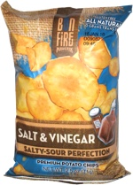 Maverik Bonfire Salt & Vinegar Premium Potato Chips