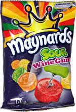 Maynards Sour Wine Gums