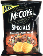 McCoy's Specials Sizzling Chilli Beef