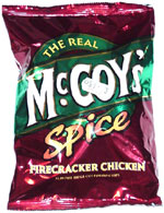 McCoy's Spice Firecracker Chicken Flavour Ridge Cut Potato Chips