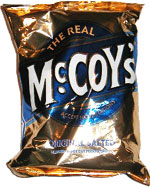 McCoy's Original Salted Flavour Ridge Cut Potato Chips