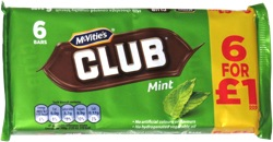 McVitie's Club Mint