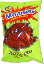 Meanies Pickled Onion Flavour Corn Snacks