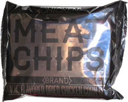 Meat Chips Nacho Flavored Dried Chicken Corn Chips