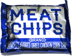 Meat Chips Ranch Flavored Dried Chicken Corn Chips