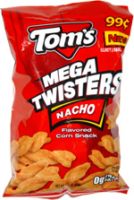 Tom's Mega Twisters Nacho
