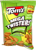 Tom's Mega Twisters Zesty Onion