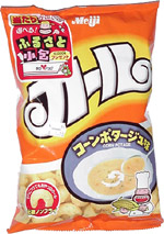 Meiji Corn Potage Puffs