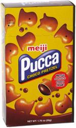 Meiji Pucca Choco Pretzel