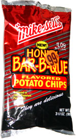 Mike-Sells Honey Bar-B-Que Flavored Potato Chips