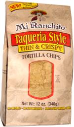 Mi Ranchoito Taqueria Style Thin & Crispy Tortilla Chips