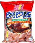 Miaow Miaow BBQ Flavoured Snack