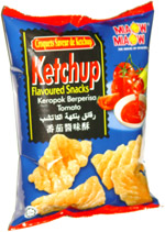 Miaow Miaow Ketchup Flavoured Snacks