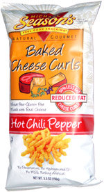 Michael Season's Baked Cheese Curls Hot Chili Pepper
