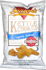 Michael Season's Natural Gourmet Kettle Cooked Lightly Salted Thick & Crunchy Potato Chips