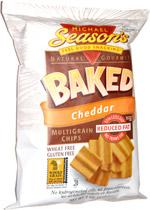 Michael Season's Baked Cheddar Multigrain Chips