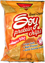 Michael Season's Soy Protein Chips Smoky BBQ
