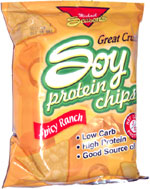 Michael Season's Soy Protein Chips Spicy Ranch