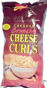 Ultimate Cheddar Crunchy Cheese Curls