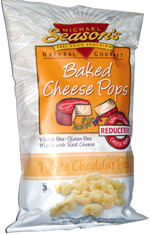 Michael Season's Baked Cheese Pops White Cheddar