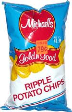 Michael's Gold n' Good Ripple Potato Chips
