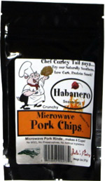 Microwave Pork Chips Habanero