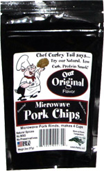 Microwave Pork Chips Original Flavor
