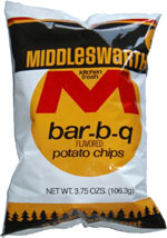 Middleswarth Bar-B-Q Flavored Potato Chips
