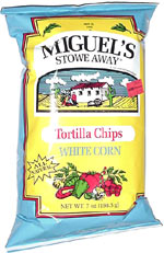 Miguel's Stowe Away White Corn Tortilla Chips