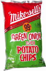 Mike-Sells Green Onion Flavor Potato Chips