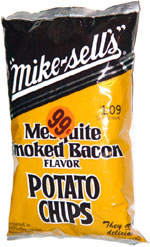 Mike-Sells Mesquite Smoked Bacon Flavor Potato Chips