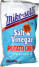 Mike-Sells Salt & Vinegar Potato Chips