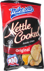 Mike-sells Kettle Cooked Potato Chips Original