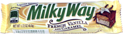 Milky Way French Vanilla and Caramel