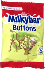 Milkybar Buttons