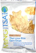 Ming Tsai Blue Ginger Thai Lime Rice Corn Chips