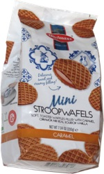 Mini Stroopwafels Caramel