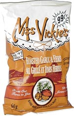 Miss Vickie's Roasted Garlic & Herb Potato Chips (Ail Grillé et Fines Herbes Croustilles)