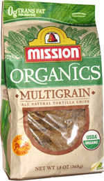 Mission Organics Multigrain All Natural Tortilla Chips