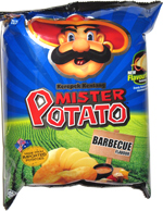 Mister Potato Kerepek Kentang Barbecue Flavor