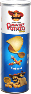 Mister Potato Crisps Barbeque